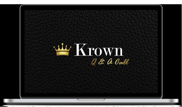 Krown Q & A call